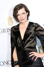 MILLA JOVOVICH at De Grisogono Party at Cannes Film Festival 05/17/2016