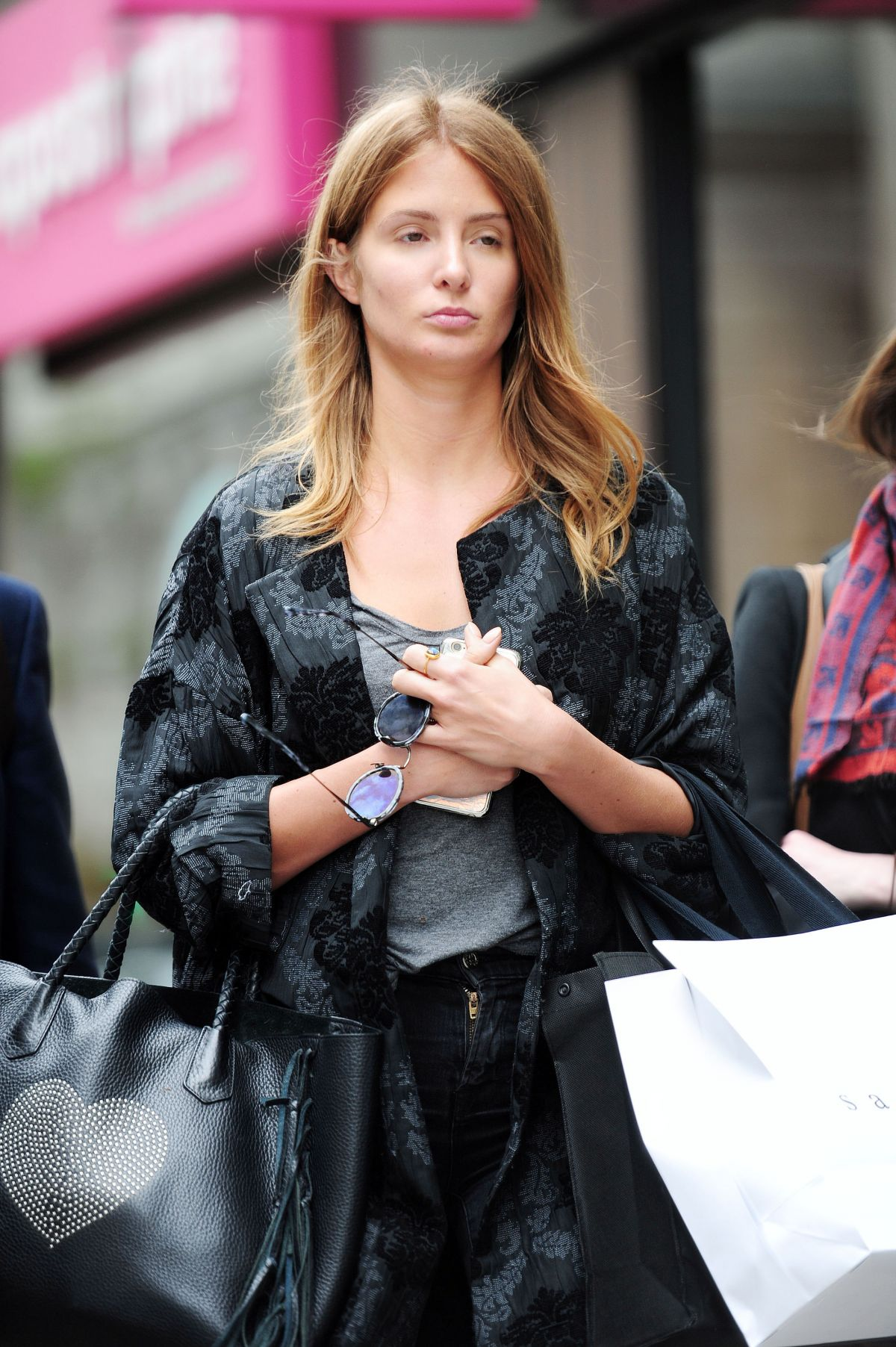 MILLIE MACKINTOSH Out Shopping in Chelsea 05/17/2016