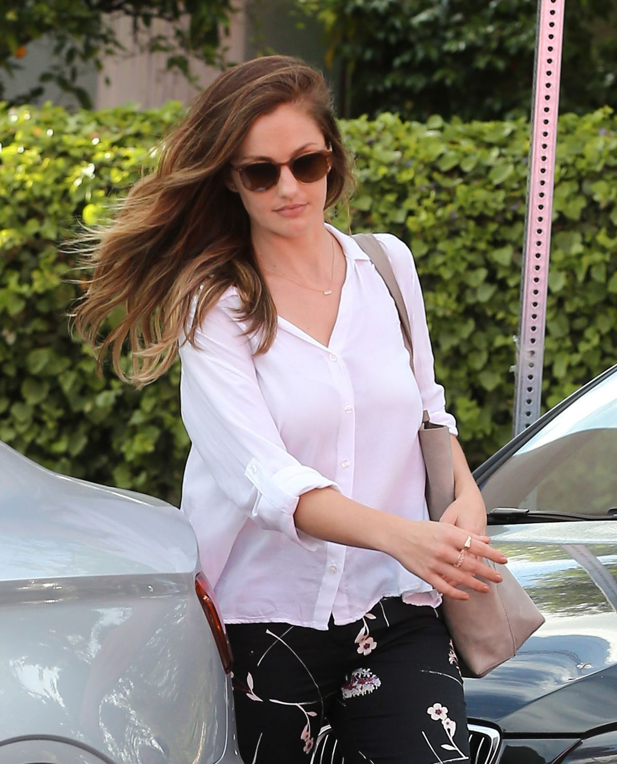 Nail Salons West Los Angeles: MINKA KELLY At Marie Nails Salon In West Hollywood 05/06