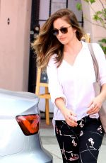 MINKA KELLY at Marie Nails Salon in West Hollywood 05/06/2016