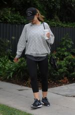 MINKA KELLY Out and About in West Hollywood 05/19/2016