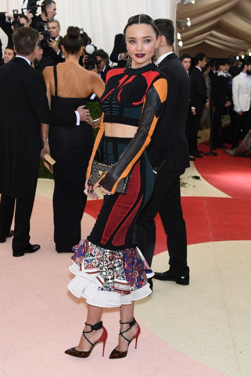 MIRANDA KERR at Costume Institute Gala 2016 in New York 05/02/2016