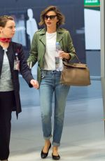 MIRANDA KERR at JFK Airport in New York 05/22/2016