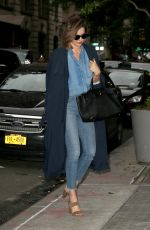 MIRANDA KERR Night Out in New York 05/24/2016