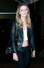 MISCHA BARTON at Sunset Marquis in West Hollywood 05/03/2016