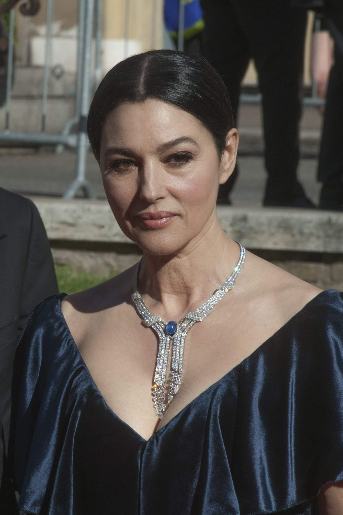 MONICA BELLUCCI at 'La Traviata' Gala Previwe in Rome 05/22/2016 ... Monica Bellucci