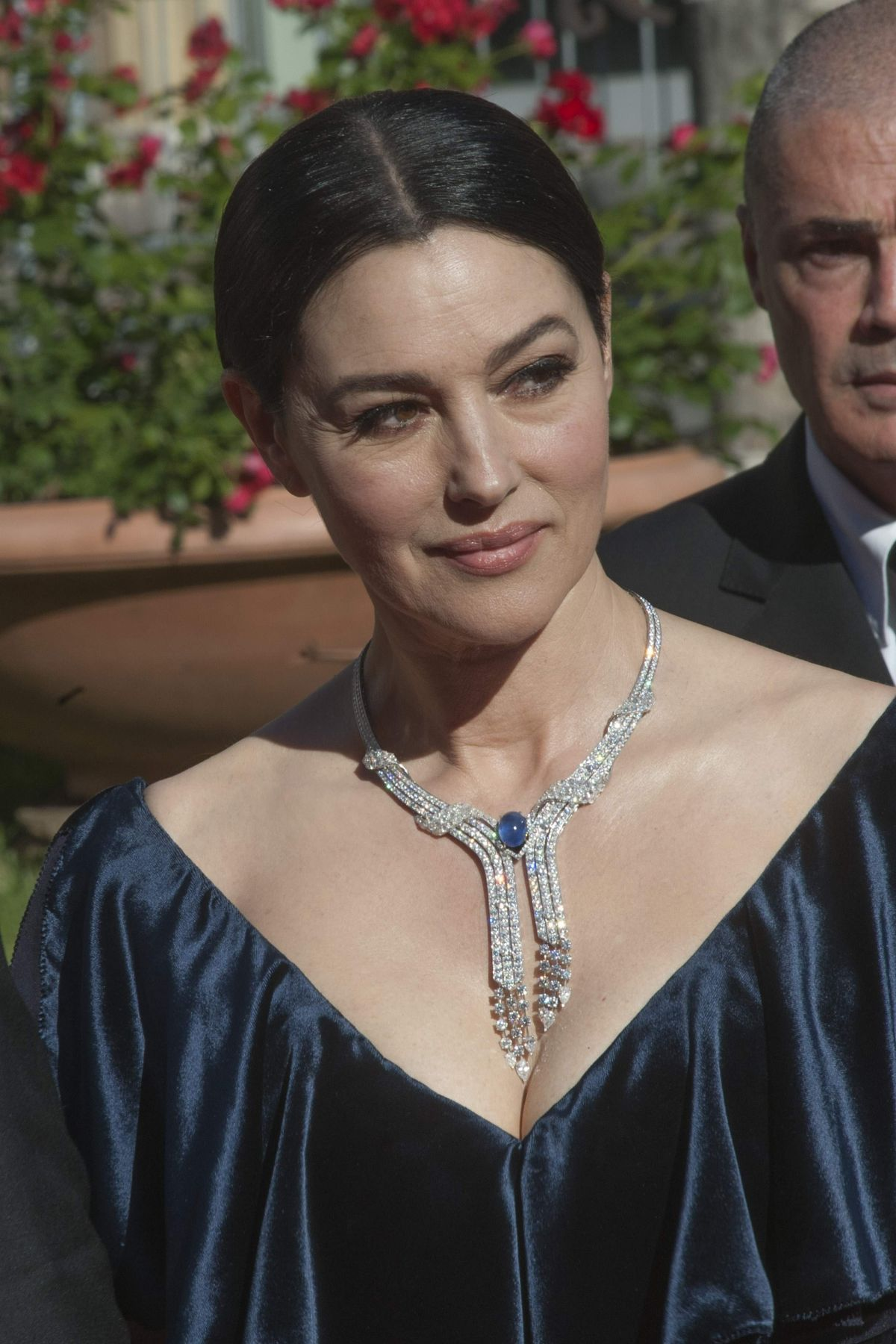 MONICA BELLUCCI at 'La Traviata' Gala Previwe in Rome 05/22/2016 ... Monica Bellucci