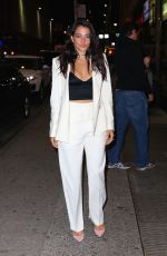NATALIE MARTINEZ at WME Upfronts Afterparty in New York 05/16/2016