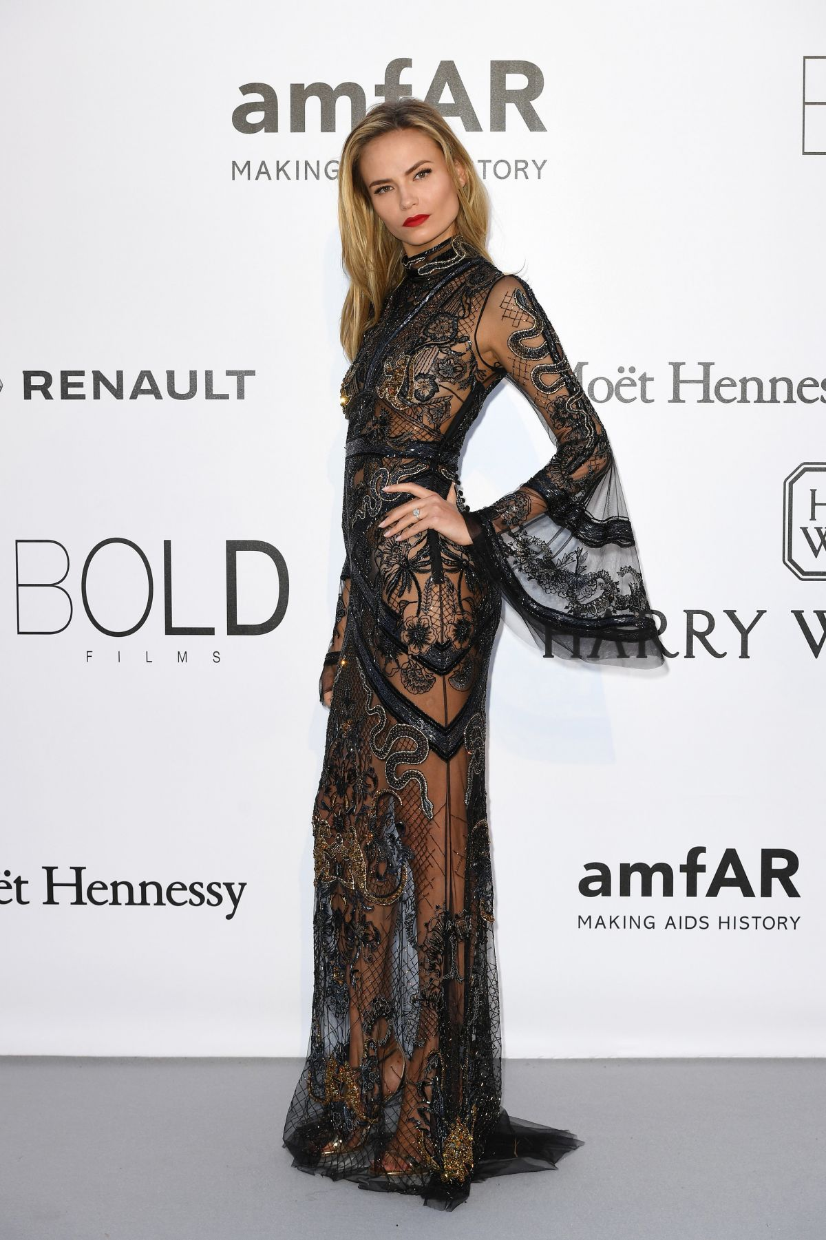 NATASHA POLY at Amfar's 23rd Cinema Against Aids Gala in Antibes 05/19/2016