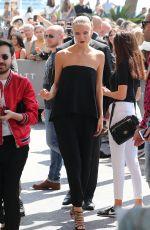 NATASHA POLY at Martinez Hotel in Cannes 05/16/2016