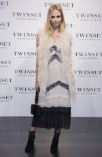 NATASHA POLY at Twin Set Fashion Event in Madrid 05/05/2016