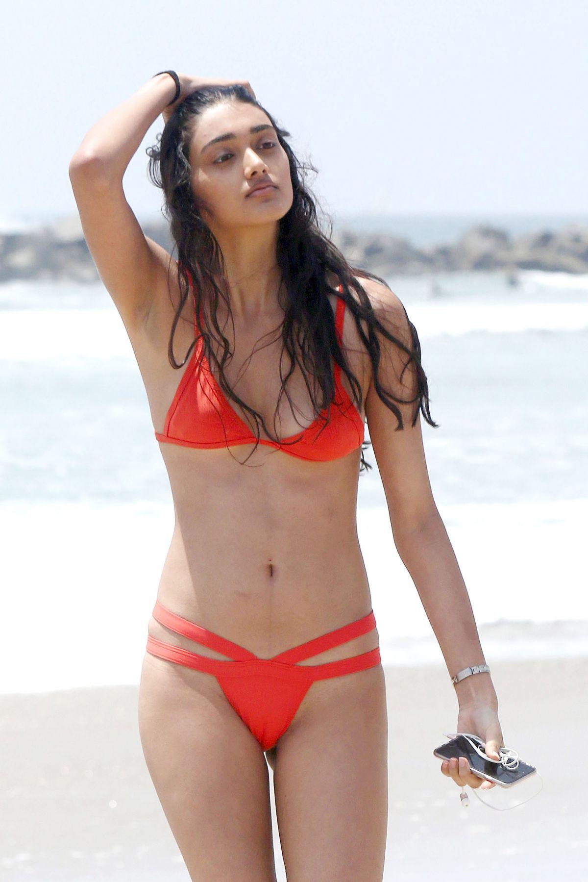 NEELAM GILL in Bikini at a Beach in Venice 05/15/2016