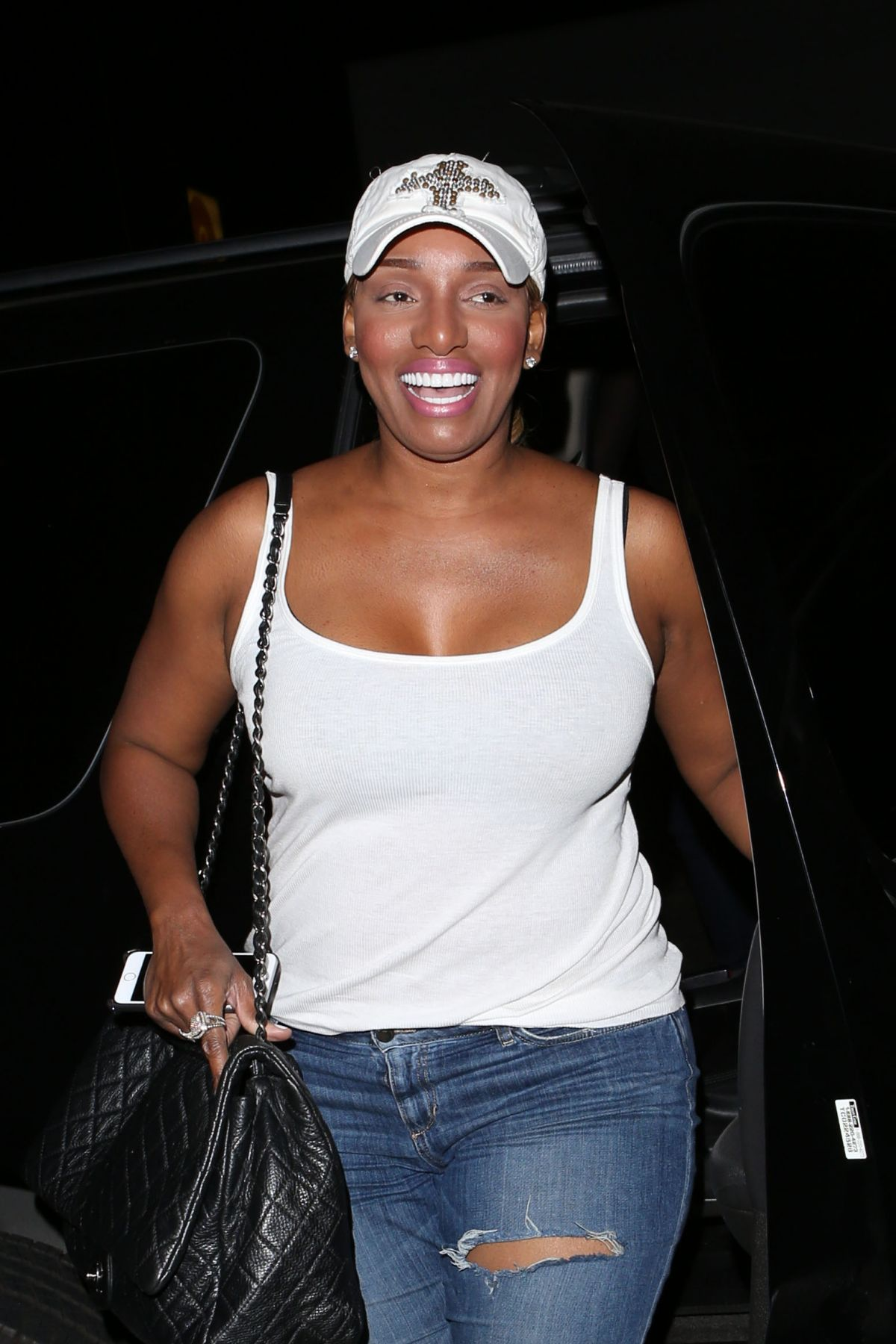 NENE LEAKES at Nice Guy in West Hollywood 05/18/2016