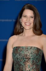 NEVE CAMPBELL at White House Correspondents' Dinner in Washington 04/30/2016