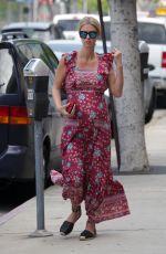 NICKY HILTON Shops for Her Baby Shower Dress in Los Angeles 05/13/2016