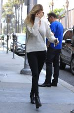 NICOLA PELTZ Out in Beverly Hills 05/10/2016