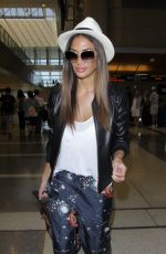 NICOLE SCHERZINGER at LAX Airport in Los Angeles 05/13/2016
