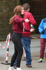 NIKKI SANDERSON in Tights Out in Chester 04/22/2016