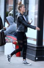 NINA AGDAL in Tights Out in New York 05/16/2016