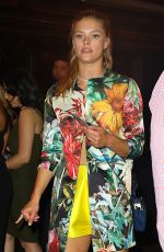 NINA AGDAL Night Out in New York 05/24/2016