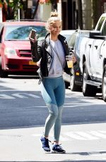 NINA AGDAL Out and About in New York 05/12/2016