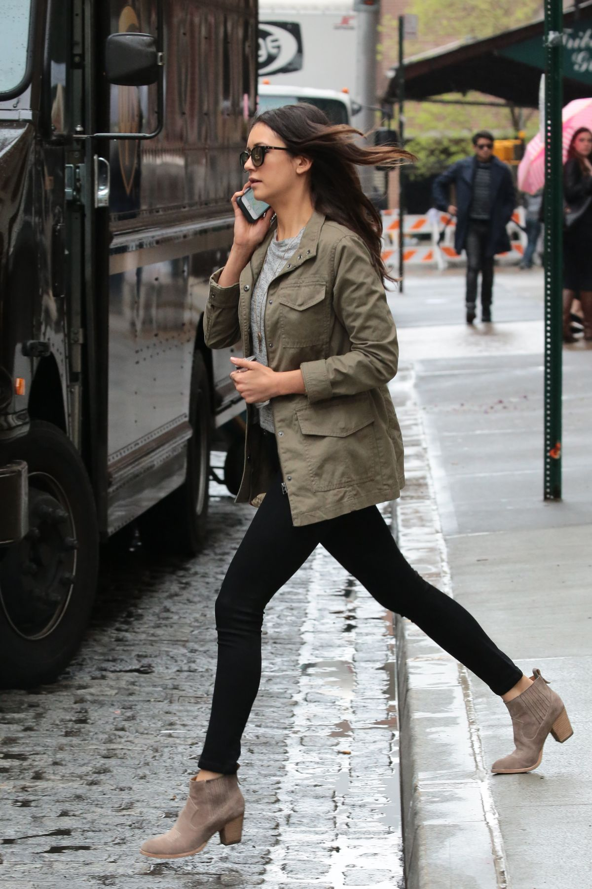 Nina Dobrev Out And About In New York 05 03 2016 Hawtcelebs