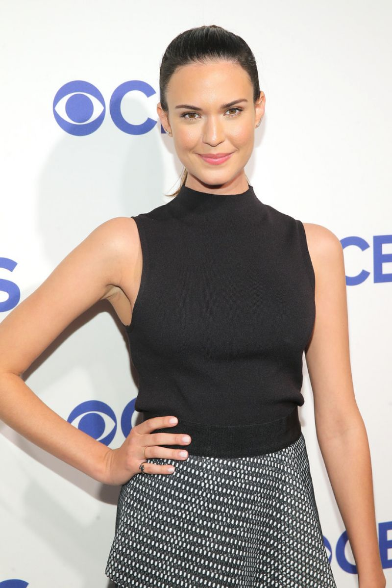 ODETTE ANNABLE at 2016 CBS Upfront in New York 05/18/2016