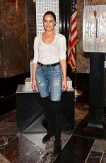OLIVIA CULPO at Empire State Building in New York 05/03/2016