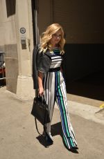 OLIVIA HOLT Leaves AOL Studios in New York 05/18/2016