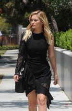 OLIVIA HOLT Out and About in Los Angeles 0/17/2016