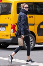 OLIVIA PALERMO Leaves a Gym in New York 05/05/2016
