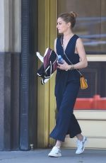 OLIVIA PALERMO Out and About in New York 05/29/2016