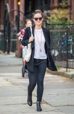 OLIVIA WILDE Out and About in New York 05/10/2016