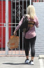 PAIGE VANZANT Arrives at DWTS Studio in Hollywood  05/13/2016
