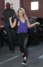 PAIGE VANZANT at Dancing with the Stars Rehersal in Hollywood  05/12/2016