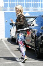 PAIGE VANZANT Leaves Dancing with the Stars Rehersal in Hollywood  04/30/2016