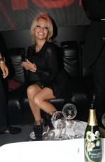 PAMELA ANDERSON at VIP Room at 69th Cannes Film Festival 05/13/2016