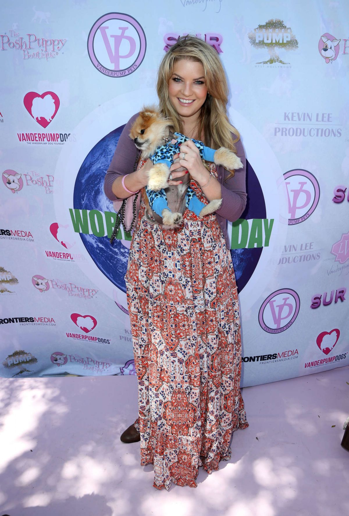 PANDORA VANDERPUMP at World Dog Day Celebration in West Hollywood 05/22/2016