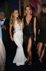 PARIS HILTON and POOPY DELEVINGNE Leaves Chopard Party in Cannes 05/16/2016