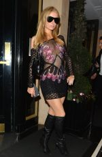PARIS HILTON Arrives at Her Hotel in Chelsea 05/21/2016