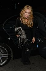 PARIS HILTON Night Out in London 05/01/2016