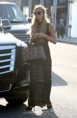 PARIS HILTON Out Shopping in Beverly Hills 05/11/2016