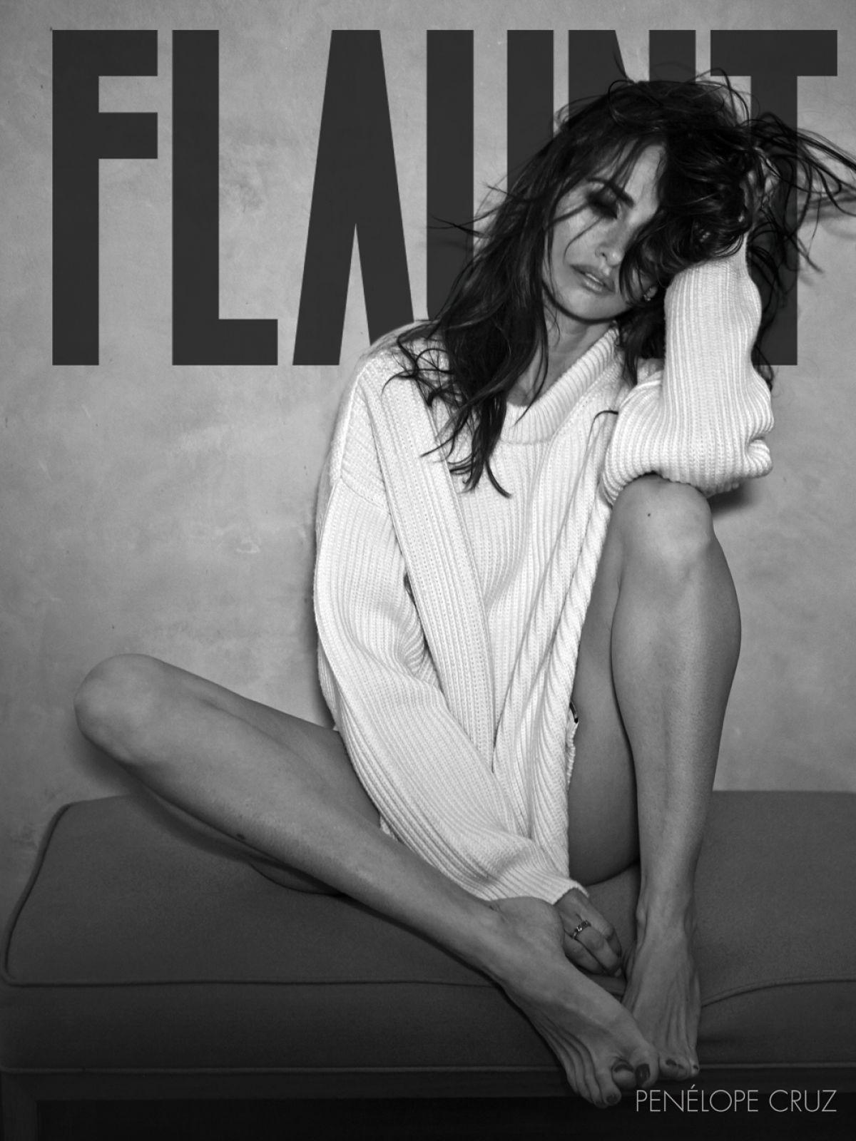 PENELOPE CRUZ in Flaunt Magazine