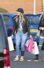 PERRIE EDWARDS Out Shopping in Newcastle 05/27/2016