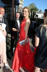 PETRA NEMCOVA at Martinez Hotel in Cannes 05/15/2016