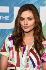 PHOEBE TONKIN at 2015 CW Upfront in New York 05/19/2016