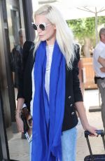 POPPY DELEVINGNE Arrives at Martinez Hotel in Cannes 05/16/2016