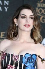 Pregnant ANNE HATHAWAY at Alice Through the Looking Glass Premiere in Hollywood 05/23/2016