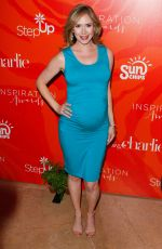 Pregnant ASHLEY JONES at 13th Annual Inspiration Awards to Benefit Step Up in Beverly Hills 05/20/2016