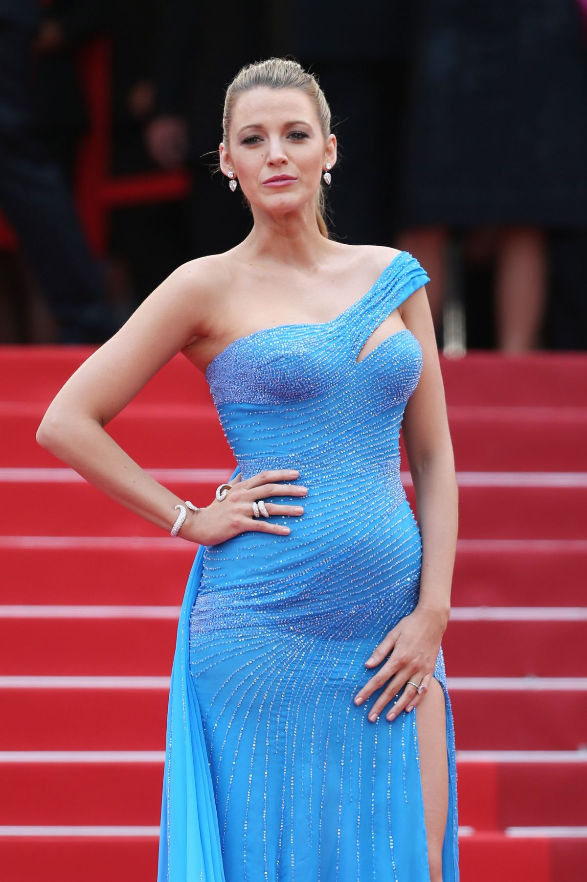 Pregnant BLAKE LIVELY at The BFG Premiere at 2016 Cannes ...